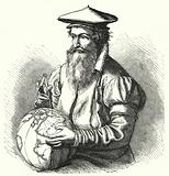 Gerardus Mercator, Flemish geographer and cartographer