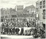 Procession to an auto-da-fe, 16th Century