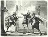 Assassination of William, Prince of Orange, leader of the Dutch Revolt against Spanish rule, 1584