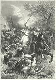 Cromwell's Ironsides fighting Royalist cavalry in the English Civil War