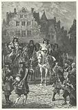 Proclamation of the revocation of the Edict of Nantes by Louis XIV, 1685
