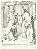 Martin Luther is ordained as a priest by Jerome Scultetus, Bishop of Brandenburg at Erfurt Cathedral, 3 April 1507