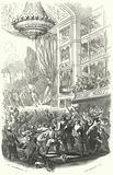 The beginning of the Belgian Revolution: performance of Daniel Auber's opera La Muette de Porcini at the Theatre de la …