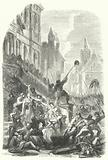 Massacre of seventeen nobles by the people of Leuven at the town hall, 1379