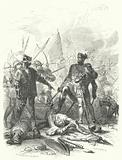 The 14 year old Philip the Bold captured with his father, King John II of France, at the Battle of Poitiers, 1356
