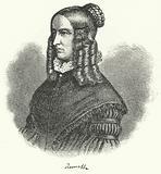 Annette von Droste-Hulshoff, German writer and composer