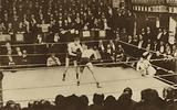 Boxing match at the National Sporting Club in Covent Garden