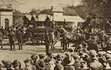 Annual cart horse parade in Regent's Park