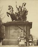 Monument to Boudicca on Westminster Bridge