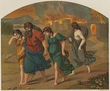 The escape of Lot and family from Sodom