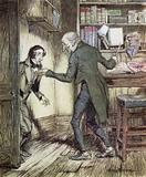 Illustration for A Christmas Carol by Charles Dickens