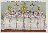 A Supper Buffet for Ball Room or Evening Party