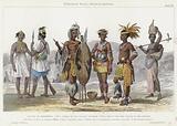 Ethiopian Race, Negros, Kaffirs