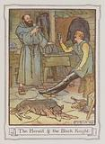 Illustration for Ivanhoe by Sir Walter Scott