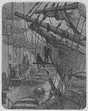 Le Vaisseau Concordia, Dans Un Bassin Des Docks