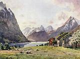 Hjorund Fjord, Oie
