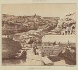 Jerusalem, Distant View of Jerusalem, Pool of Hezekiah