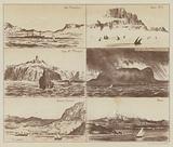 Cape Trafalgar, Ape's Hill, Cape St Vincent, Gibralatar from Mediterranean, Sierra Nevada, Etna