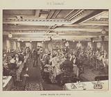 "SS ""Ormuz"", Dining Saloon on Upper Deck"