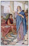 """""""Synesius attends the lectures of Hypatia"""""""