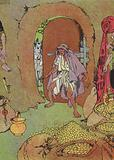 Ali Baba finds his Brother's Body