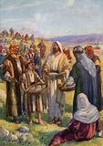 The Feeding of the Five Thousand, Matthew XIV19