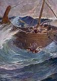 Jonah Cast into the Sea, Jonah I 15