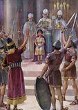 The Crowning of Joash, II Kings XI 12