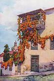 An Old Balcony