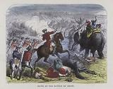 Robert Clive at the Battle of Arcot
