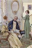 Illustration for Wives and Daughters by Mrs Gaskell