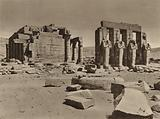 Thebes, Ramesseum, General View of the Temple of Rameses II