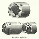 Perforateur a diamants