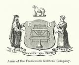 Arms of the Framework Knitters' Company
