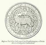 Agnus Dei that belonged to Charlemagne