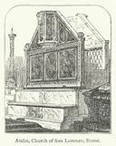 Ambo, Church of San Lorenzo, Rome