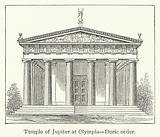Temple of Jupiter at Olympia, Doric order