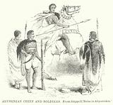 Abyssinian Chief and Soldiers
