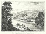 Abbotsford, the Seat of Sir Walter Scott