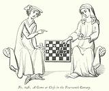A Game at Chess in the Fourteenth Century