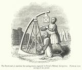 The Trebuchet, a machine for casting stones, engraved in Grose's Military Antiquities