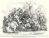 Battle of Montiel, a mixed and irregular combat of French, Spaniards, Moors and Jews