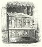 Tomb of Edward the Third, Westminster Abbey
