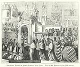 Triumphal Entry of Queen Isabella into Paris