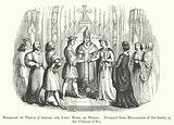 Marriage of Philip d'Artois and Lady Mary de Berry