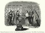 Richard II resigning the Crown into the Hands of the Duke of Lancaster