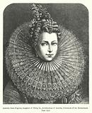 Isabella Clara Eugenia, daughter of Philip II, Archduchess of Austria, Governess of the Netherlands, died 1633