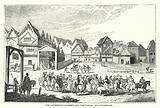 The Canterbury Pilgrims, and the Tabard Inn, Southwark