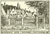 Garden Gate, Avebury House, Wiltshire