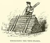 Unstacking the Vine-Stakes